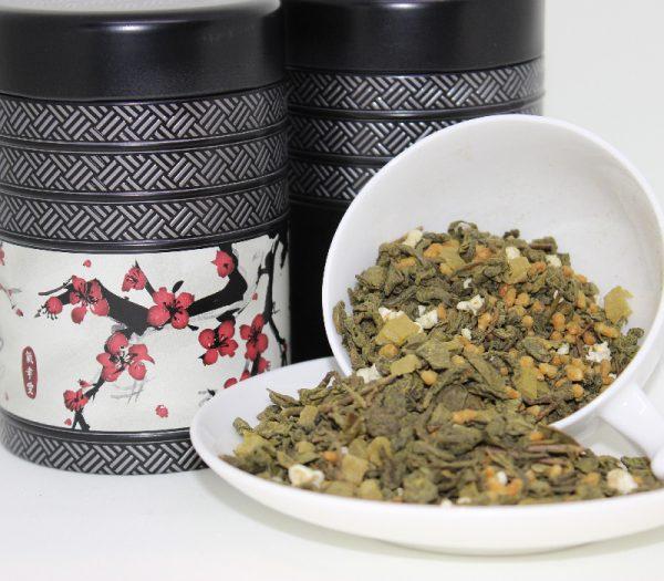 Pineapple Matcha tea