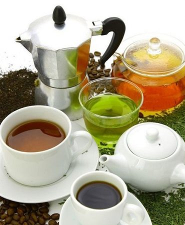 Natural Green Tea VS Coffee